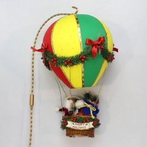 """Fiber Optic Balloon """"Santa's on the way"""""""